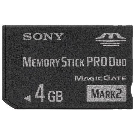 SONY 메모리스틱 프로듀오 MARK2 (4GB/MS-MT4G)_이미지