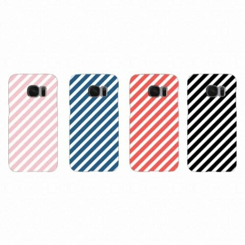 아이콘팜  갤럭시 S6 엣지 PR스트라이프 Gp 하드 케이스_이미지