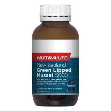 뉴트라라이프 뉴질랜드 초록입홍합 5600 100캡슐(1개)