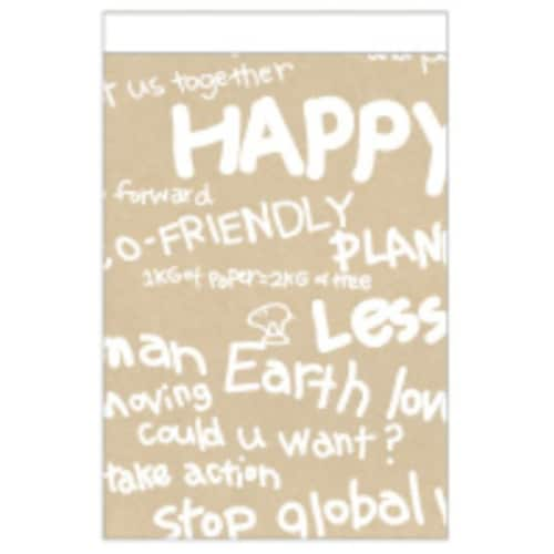 레드포인트  Happy recycling note (Happy brown)_이미지