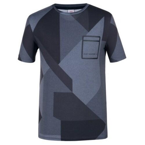 JDX골프 포켓포인트 라운드 티셔츠 X3QMTSM07BK_이미지