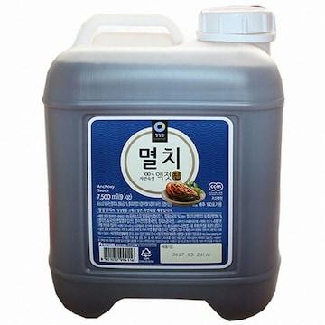 대상 청정원 멸치액젓 진 9kg (1개)_이미지