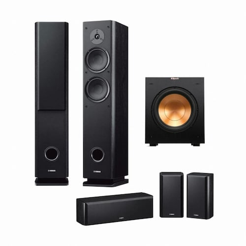 야마하 NS-Series NS-F160 + NS-B160 + NS-C160 + 클립쉬 R-10SW 5.1채널_이미지