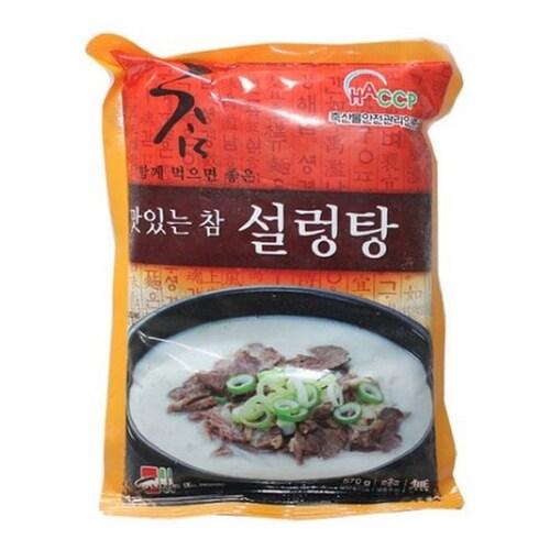 성일식품  맛있는 참 설렁탕 570g (1개)_이미지