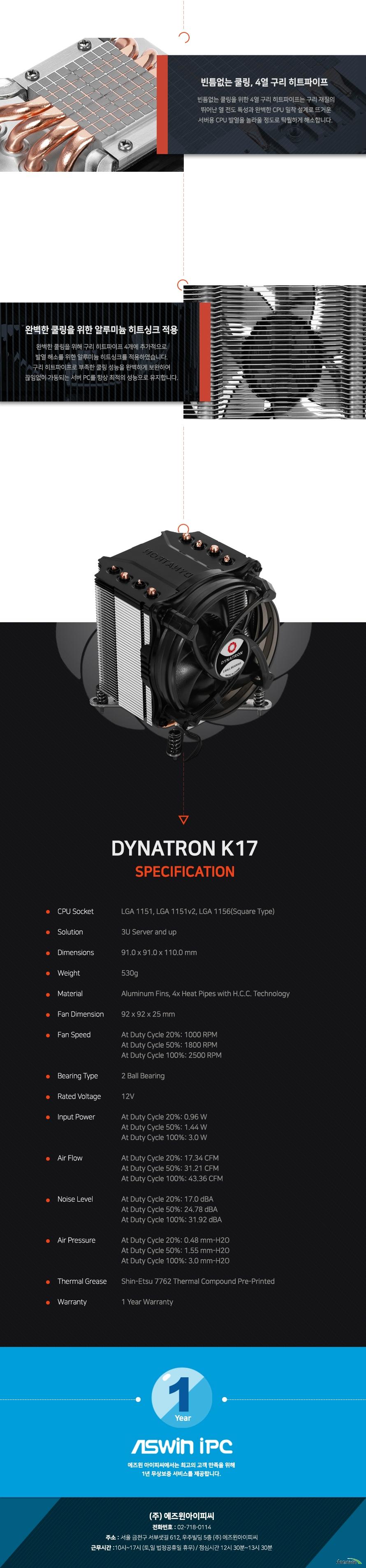 DYNATRON K17