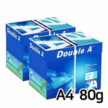 더블에이  프리미엄 복사용지 A4 80g 박스 (5,000매)