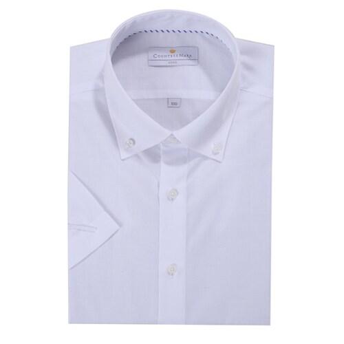 클리포드 카운테스마라 반소매 슬림핏 버튼다운 셔츠 CDHQ2B1251AO_이미지