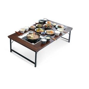 까사마루  접이식 불판 좌식테이블 (의자별도)