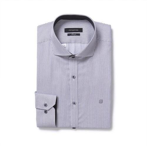 루이까또즈  스트라이프 긴소매 슬림 셔츠 BQ7C89C_이미지