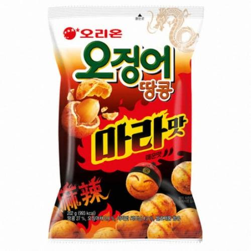 오리온 오징어 땅콩 마라맛 98g (1개)_이미지