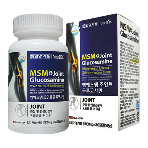 일양약품 엠에스엠 조인트 글루코사민 60정(1개)