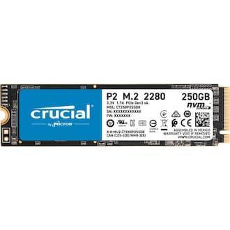 마이크론 Crucial P2 M.2 NVMe 대원CTS (250GB)_이미지