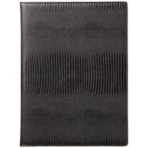 큐블  라이팅패드 A4 Alligator Bonded Leather (블랙)_이미지