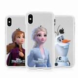 아스카 아이폰7 플러스 겨울왕국2 투명 젤리 케이스