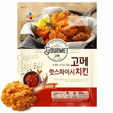 CJ제일제당 고메 핫스파이시 치킨 550g(1개)