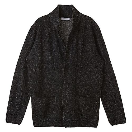 코오롱인더스트리 커스텀멜로우 jacket knit cardigan CWWAW16544BKX_이미지
