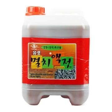 유포식품 유포 멸치액젓 15kg (1개)_이미지