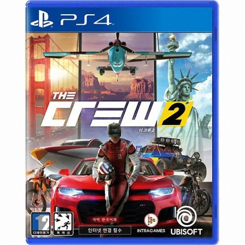 유비소프트 더 크루 2 PS4(중고,한글판)