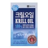종근당건강 어스투어스 크릴오일 100% 30캡슐  (1개)