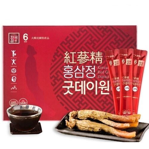 한국삼  홍삼정 굿데이원 스틱 10g 60스틱 (2개)_이미지