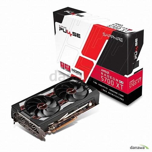 SAPPHIRE 라데온 RX 5700 XT PULSE OC D6 8GB Dual-X_이미지