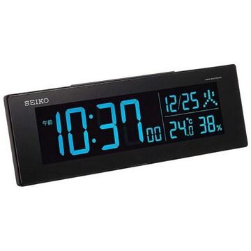세이코 알람 시계 전파 디지털 DL305K