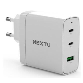 이지넷유비쿼터스 넥스트 USB-PD PPS/QC3.0 100W 3포트 충전기 NEXT-QC623GAN_이미지