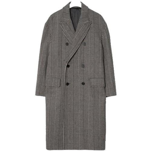 에잇세컨즈 남성 브라운 멀티 패턴 코트 219X30AY7D_이미지