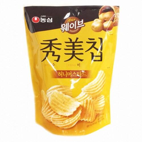 농심  수미칩 허니머스타드 85g (12개)_이미지