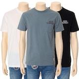 MK트렌드 버커루 남여공용 20수 자수장식 포켓 티셔츠 B182TS080P_이미지