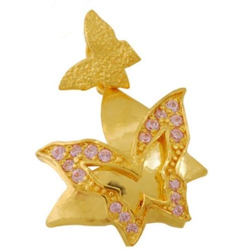 골드모아 순금 이중나비 메달 3.75g_이미지