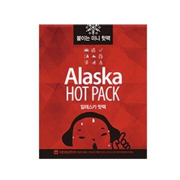 바이온  알래스카 미니 붙이는 핫팩 (1개)