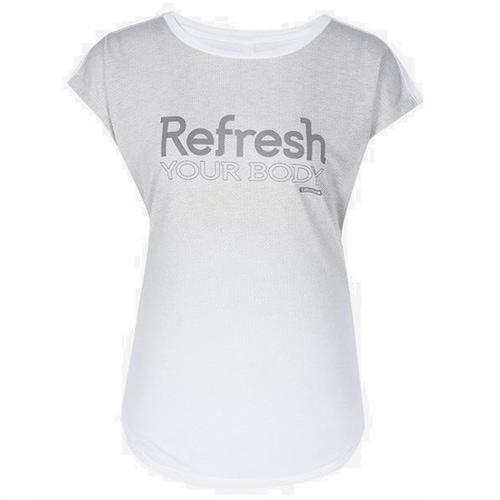 라푸마  리프레쉬 가오리 소매 티셔츠 (LFTS7B357WT, 화이트)_이미지
