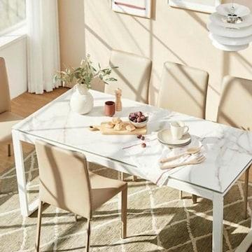 한샘  파세인 세라믹 식탁세트 1600 S701 (의자6개)