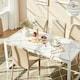 한샘 파세인 세라믹 식탁세트 1600 S701 (의자6개)_이미지