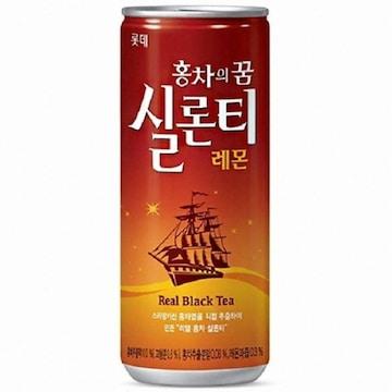 롯데칠성음료 홍차의꿈 실론티 240ml(30개)
