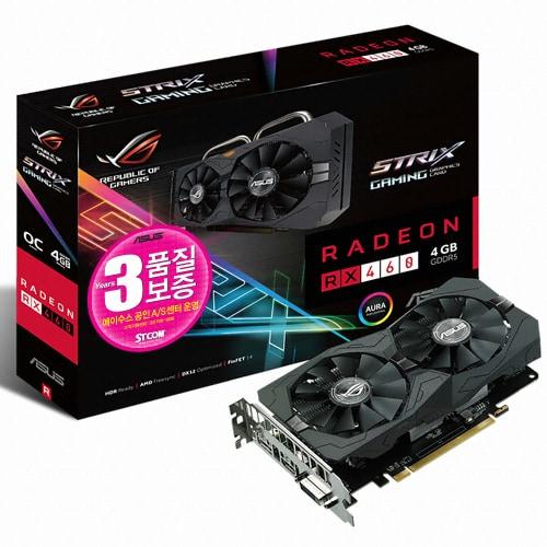 ASUS ROG STRIX 라데온 RX 460 O4G GAMING 4GB STCOM_이미지