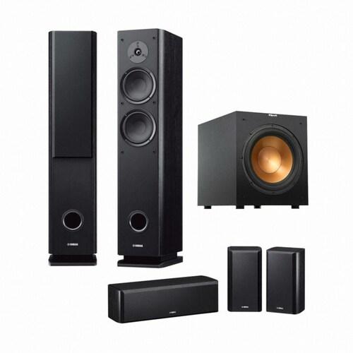 야마하 NS-Series NS-F160 + NS-B160 + NS-C160 + 클립쉬 R-12SW 5.1채널_이미지