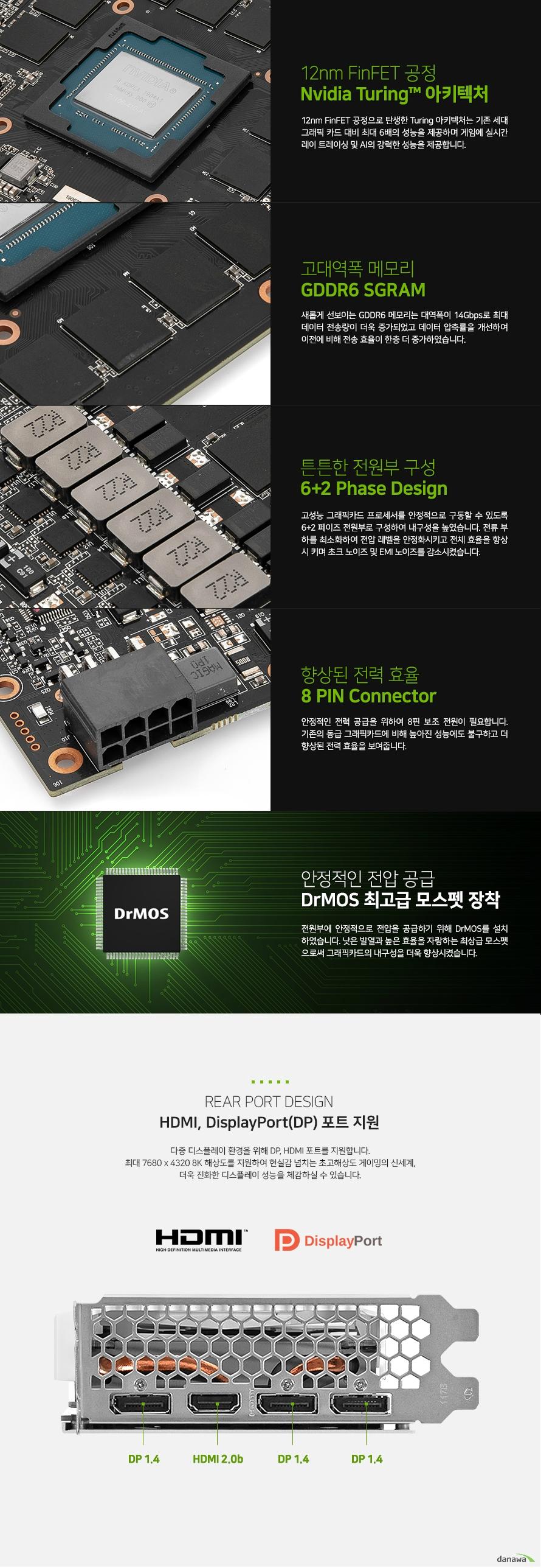 이엠텍 XENON 지포스 RTX 2060 SUPER STORM X Dual D6 8GB WHITE