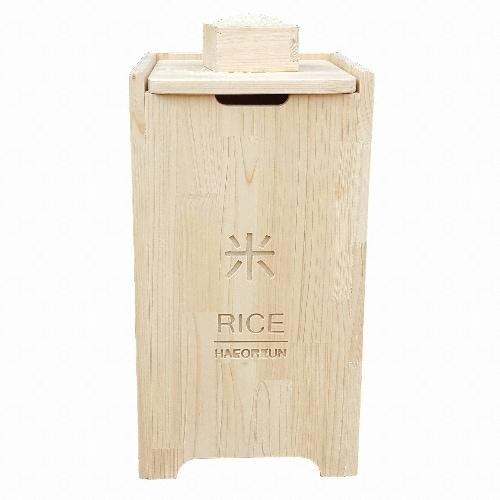 해오른 편백 원목 쌀통 20kg_이미지