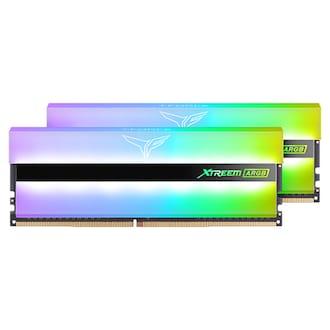TeamGroup T-Force DDR4-3200 CL14 XTREEM ARGB 화이트 패키지 서린 (16GB(8Gx2))_이미지
