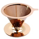 로즈골드 티타늄코팅 스텐 커피 드리퍼