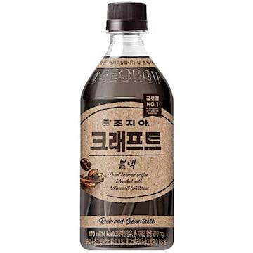 코카콜라음료 조지아 크래프트 블랙 470ml