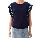 LF 앳코너 소매러플 니트 스웨터 ATSW8B209_이미지