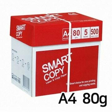 더블에이  스마트카피 복사용지 A4 80g (5팩, 2500매)