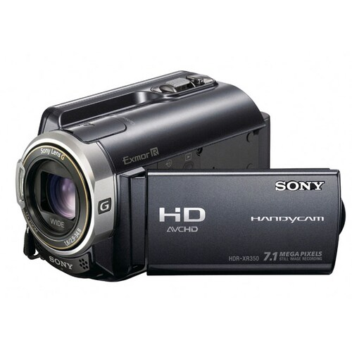 SONY HandyCam HDR-XR350 (중고품)_이미지