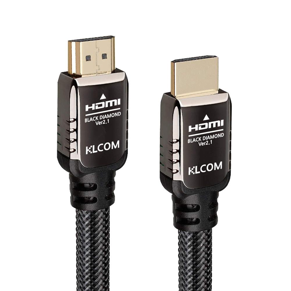 케이엘시스템 KLcom BLACK DIAMOND 고급형 HDMI v2.1 케이블(KL83, 1.5m)