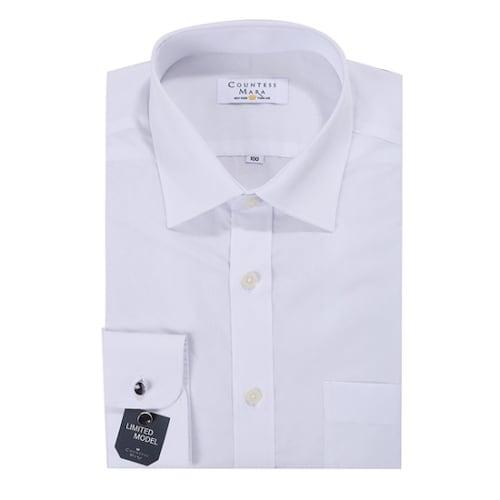 클리포드 카운테스마라 긴소매 일반 핏 도비짜임 셔츠 CDCQ2B1155AO_이미지