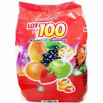 코코아랜드  LOT100 구미어쏘티드젤리 1kg (1개)