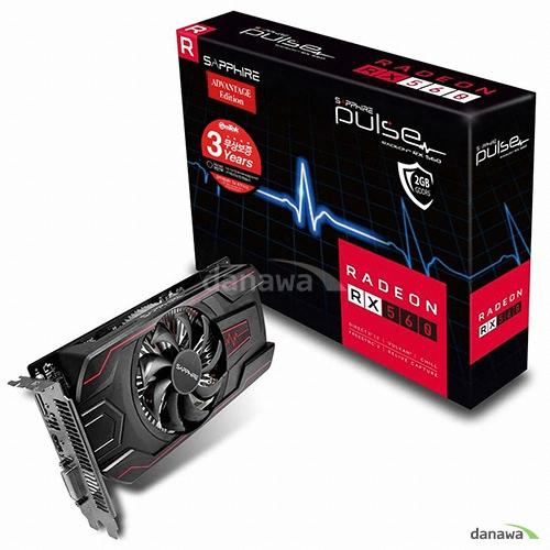 SAPPHIRE 라데온 RX 560 14CU D5 2GB PULSE